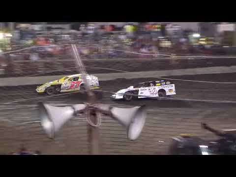 DIRTcar Summer Nationals Modifieds Macon Speedway July 5th, 2018 | HIGHLIGHTS