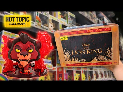 Lion King Collectors Box Funko Pop Hunt and Unboxing