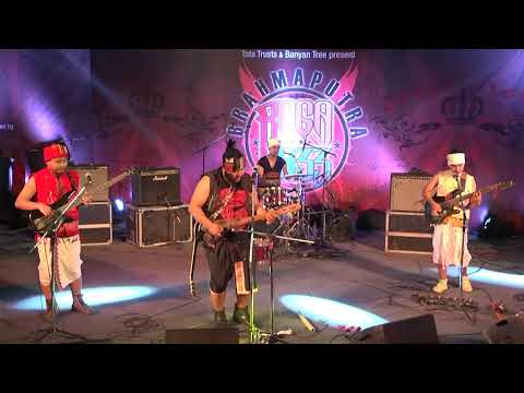Jambili in Brahmaputra Raga Jazz gig, Delhi chapter