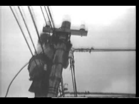 Marine Communication Unit in Action, This film shows Japanese civilians, a Marine signal truck a...