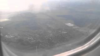 Вид из окна самолёта Ленкорань Москва часть 9