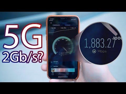 Testing Verizon's Ultra Fast 5G Network!