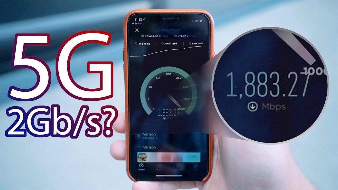 Testing Verizon's Ultra Fast 5G Network! - YouTube