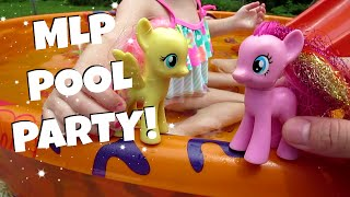 MY LITTLE PONY POOL PARTY! Ep. 3 | MayMommy2011