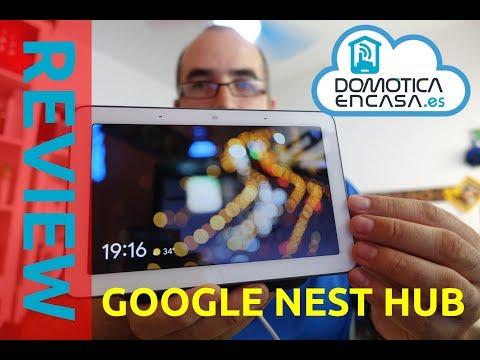 Google Nest Hub - Review y opinión - Domoticaencasa.es