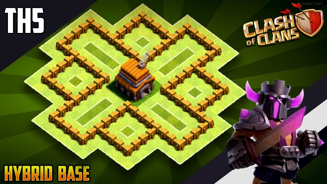 New Coc Th 5 Base 1