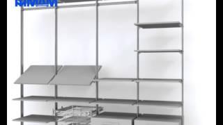 Стеллажная система SLIM(Стеллажная система SLIM разработана итальянской компанией Eureka. Красота и изящество, строгость и сдержанност..., 2015-06-15T10:12:22.000Z)