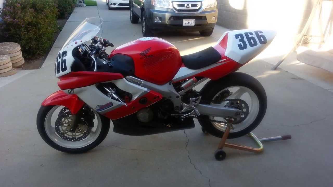 Honda Cbr 600 For Sale >> 2000 Honda CBR600 F4 Race Bike For Sale - YouTube