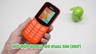 Mở hộp Nokia 130 (2017): hoàn thiện tốt, nâng cấp camera sau | Unboxing Nokia 130 (2017) | LKCN