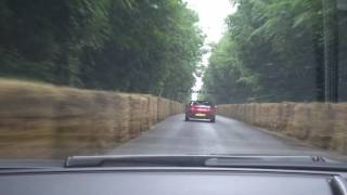 Fast Drive Up Goodwood Hill In An Aston Martin Rapide S
