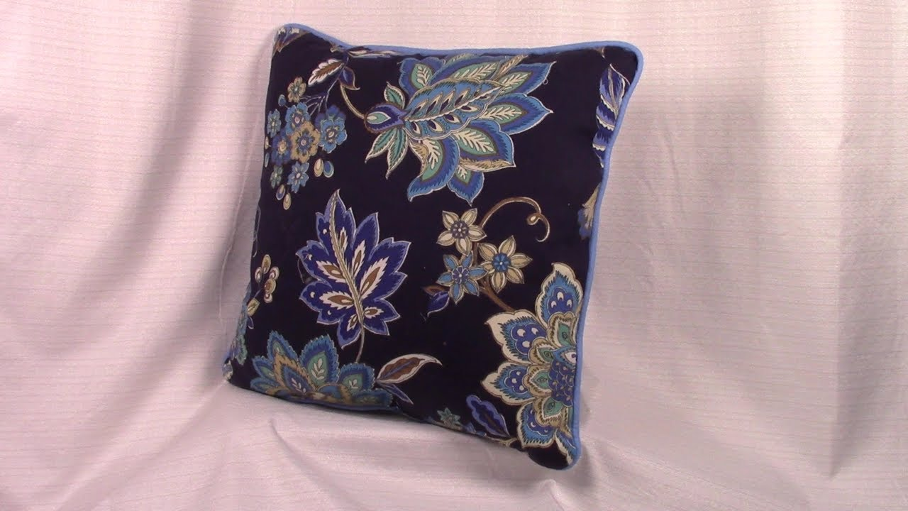 how to sew piping onto a pillow the sewing room channel