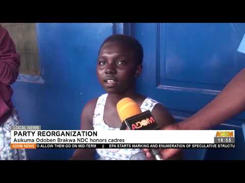 Asikuma Odoben Barkwa NDC honors cadres - Adom TV News (20-7-21)