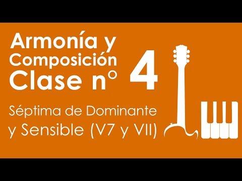 Armonía y Composición: Clase 4, Séptima de Dominante y Sensible