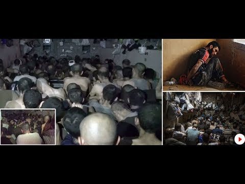 Inside the cramped Mosul prison where scores of ISIS suspects are kept in dark...