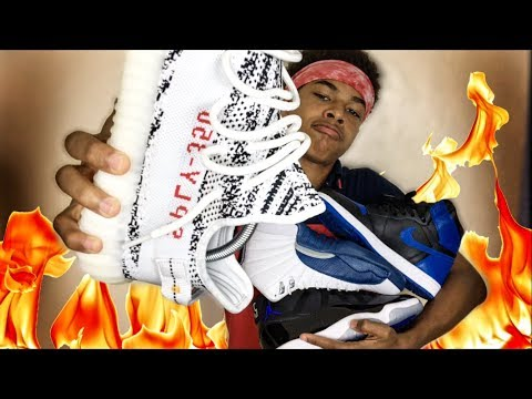 15 Year Old's HEAT Sneaker Collection🔥🔥