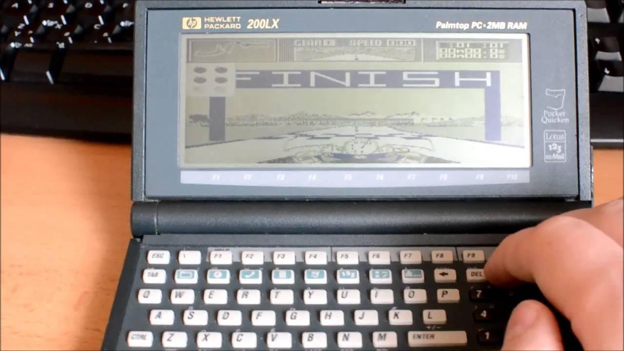Hp 200lx Palmtop Pc The Cycles International Grand Prix