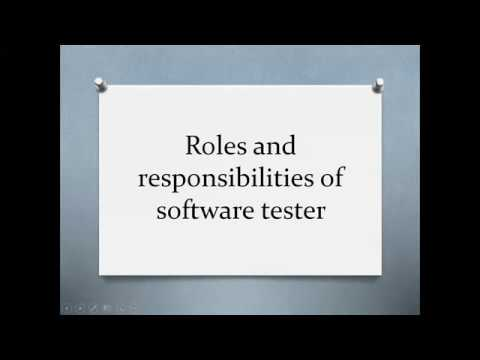 7 Roles And Responsibilities Of Software Tester