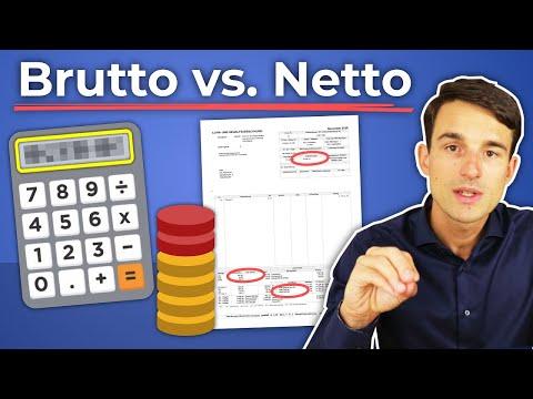 Gehaltsrechner: Brutto & Netto-Gehalt erklärt! Inkl. Lohnabrechnung-Beispiel | Brutto Netto Rechner