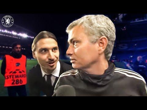When Zlatan surprised Jose