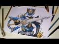 Speed Drawing Ryukendo [tokusatsu Collab] video
