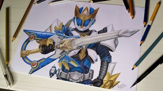 Speed Drawing Ryukendo [TOKUSATSU COLLAB]