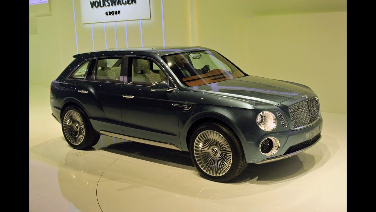 Bentley EXP 9 F Concept | 2012 Geneva Auto Show | Edmunds.com - YouTube