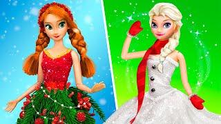 10 DIY Barbie and Disney Princesses Christmas Ideas