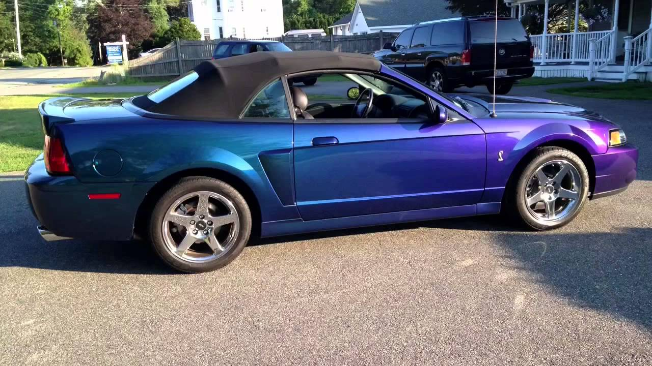 04 Mystichrome Cobra Convertible Purple Blue Green Black Ford Color Changing Paint A 1 Racing You