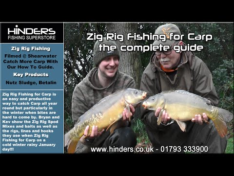 Zig Rig Fishing for Carp the complete guide - Shearwater Lake