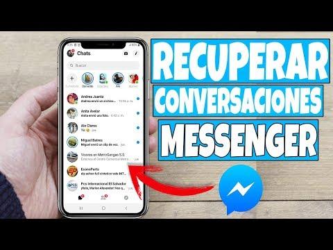 Como Recuperar CONVERSACIONES BORRADAS DE FACEBOOK MESSENGER Desde El Celular 2019!