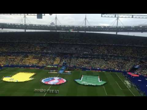 Spine Tingling Irish National Anthem, Amhran Na bhFiann, Euros 2016, Ireland V Sweden, Stade de Fra