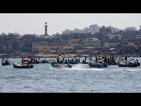 Israel detains Gaza Freedom Flotilla