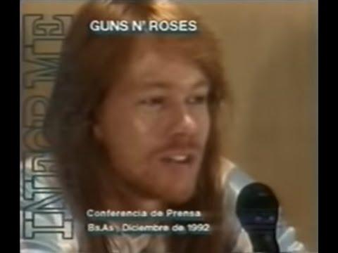 Guns N Roses en Argentina 1992-Parte 1
