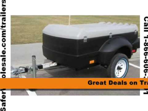 Small Cargo Trailers >> Brand New Enclosed Mini Cargo Utility Trailers For Sale