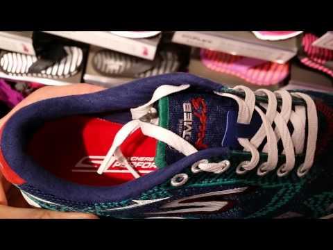 Skechers hardloopschoenen   Erg licht, memory foam, mooi
