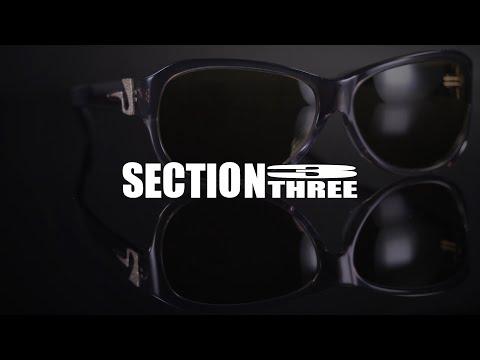 ガンクラフト レンズの色と濃度が変化するセクション3レンズ