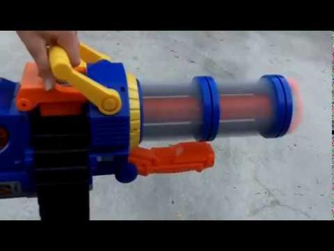 airzone mini gun review YouTube