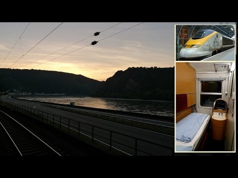 London To Vienna By Eurostar & Sleeper Train