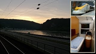 London to Vienna by Eurostar & sleeper train