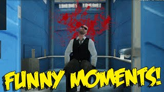 CS:GO FUNNY MOMENTS - TOILET TROLLING, NO SCOPE MID CHALLENGE & MORE