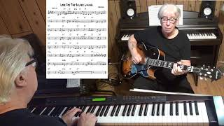Look For The Silver Lining - Jazz guitar & piano cover ( Jerome Kern )
