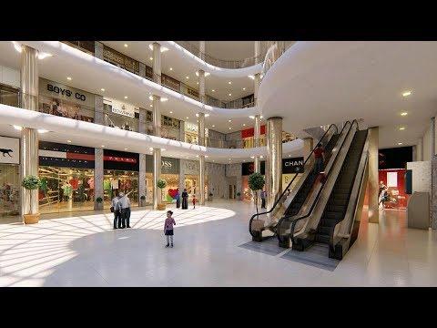 Saba  Mall  , 3D architectural CGI animations