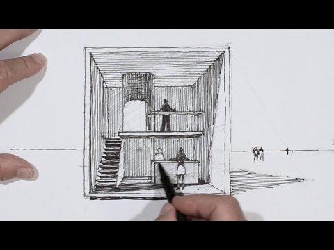 Dessiner en perspective un cube habit  YouTube