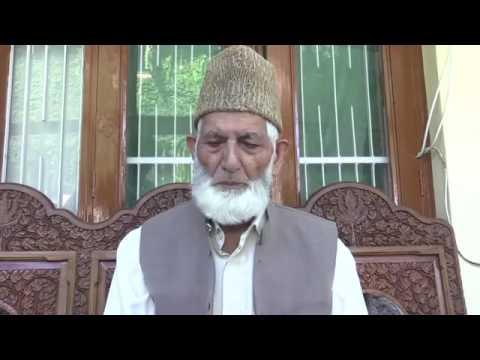 Sye Ali Sha Geelani Latest Speech about Indian Army Violation. Sep. 2016