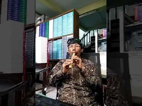 Bansi alat musik tradisional Minangkabau