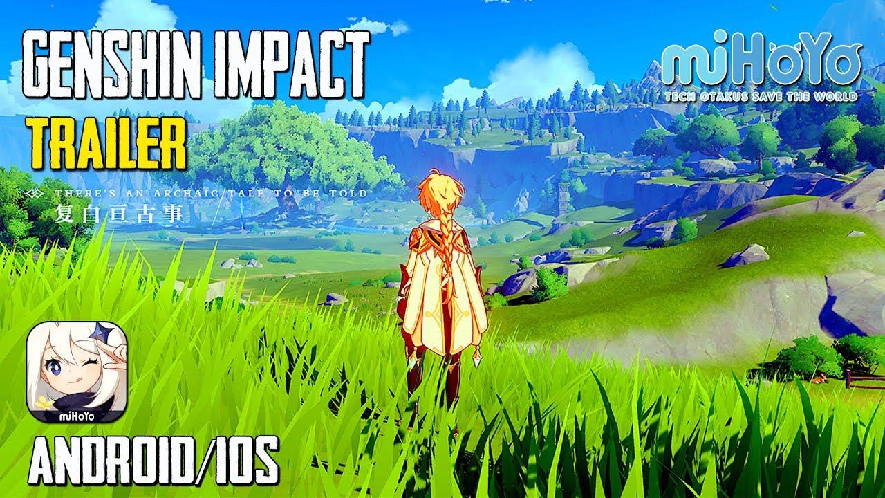 Genshin Impact Gameplay Android