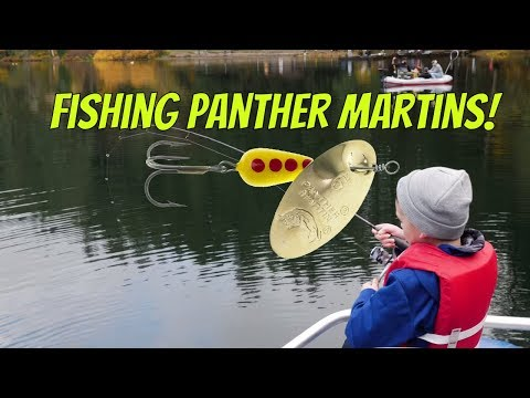 How To Fish Panther Martin Spinners For Trout (EASY & EFFECTIVE!)