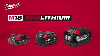Аккумулятор Milwaukee® M18 REDLITHIUM™ 9 0 Ач - сумасшедшая энергия для инструментов!