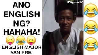 Ano English ng? Napagtripan ng Tropa, Hahaha!