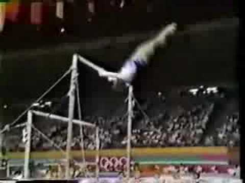1984 Olympics AA Mary Lou Retton UB